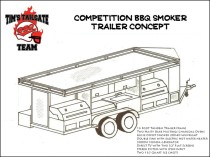 masterjules   teardropinterior together with Trailer Plan also 8X16 Low Deck Tandem Utility Trailer PlansInstructions EBay as well 5x10 Hydraulic Dump Trailer Plans Model 10hd moreover 231142822769. on tandem trailer plans